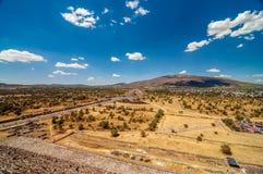 Teotihuacan Vista Stock Photography