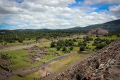 Teotihuakan, Мексика стоковые изображения