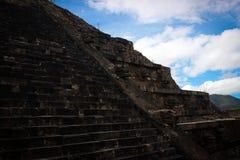 Teotihuakan, Mexique Photos stock
