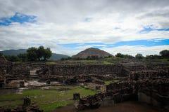 Teotihuakan, Mexique Photo libre de droits
