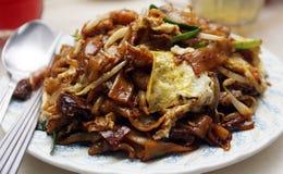 Teow frito del kueh Imagenes de archivo