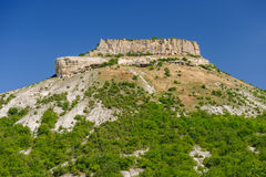 Tepe Kermen, Crimea, Ukraine or Russia Royalty Free Stock Photos