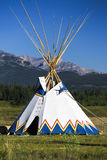 Tepee. Authentic tepee from Native North Americans Stock Photo