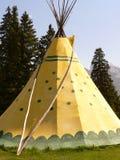 tepee banff Стоковая Фотография