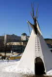 Tepee de Winnipeg Photos stock