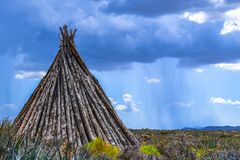 Tepee in Grand Canyon Stock Photos