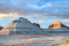 Tepee Rock Formations - Petrified Forest Stock Photo