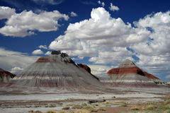 The Tepees. In Petrified Forest National Park, Arizona Stock Photography