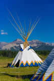 Tepees. Authentic tepee of Native North Americans stock photography