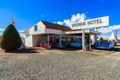 Tepees de motel de tipi Photographie stock libre de droits