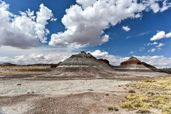 The Tepees - Petrified Forest National Park Royalty Free Stock Image