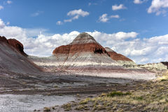 The Tepees - Petrified Forest National Park Royalty Free Stock Photos