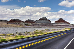 The Tepees - Petrified Forest National Park Stock Photo
