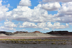 The Tepees - Petrified Forest National Park Stock Image