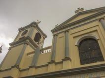 Tepeyac教会,圣拉斐尔del Norte,希诺特加的维尔京 图库摄影
