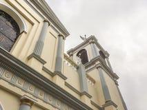 Tepeyac教会,圣拉斐尔del Norte,希诺特加的维尔京 免版税图库摄影