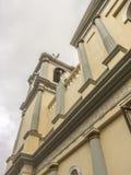 Tepeyac教会,圣拉斐尔del Norte,希诺特加的维尔京 免版税库存图片