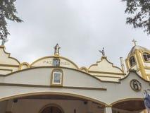 Tepeyac教会,圣拉斐尔del Norte,希诺特加的维尔京 库存照片