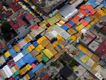 Tepito Market Aerial Royalty Free Stock Photos