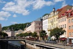tepla ποταμών αναχωμάτων Στοκ Φωτογραφίες