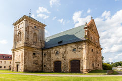 Tepla Abbey. In Western Bohemia in the Czech Republic Stock Image