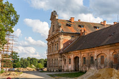 Tepla Abbey. In Western Bohemia in the Czech Republic Royalty Free Stock Photography