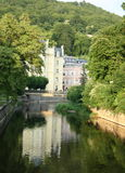 Tepla river Karlovy Vary Royalty Free Stock Photography