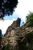 Teplice-Felsen Stockbilder