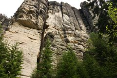 Teplice Rocks Royalty Free Stock Image