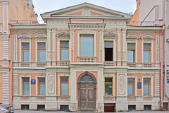 Teplov's mansion in Saint Petersburg, Russia. The house in style of modern of the 19th century on Angliyskaya Embankment at Neva river in the centre of Saint Stock Photos