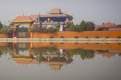 Tepmles in Lumbini Royalty Free Stock Image