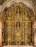 Tepotzotlan altarpiece Royalty Free Stock Photos