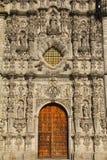 Tepotzotlan facade I Royalty Free Stock Photography