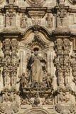 Tepotzotlan facade II Stock Image