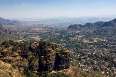Tepoztlan - one of the magic towns of Mexico Royalty Free Stock Photos