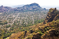 Tepoztlan - one of the magic towns of Mexico Royalty Free Stock Images