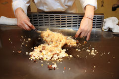 Teppan Yaki Royalty Free Stock Photography