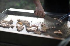 teppanyaki цыпленка Стоковые Фотографии RF