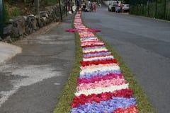 Teppich der Blumen stockbild