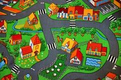 Teppich für Kinder stockbild