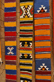 Teppich im Marokko-Land Stockbilder