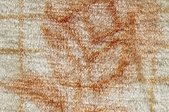 Teppich mit Muster Stockfoto