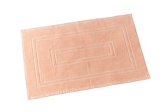Teppich oder Fußmatte für Reinigungsfüße Lizenzfreie Stockfotos
