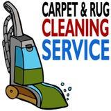 Teppich-Reinigungs-Service Stockfoto