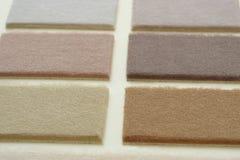 Teppich samples2 Stockfoto