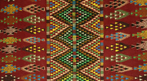 Teppichart der tunesischen Berbers - Margoum lizenzfreies stockfoto