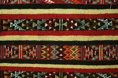 Teppichart des berbers - Margoum stockfotos