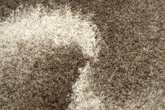 Teppichbeschaffenheit - Schmelzverfahren stockfoto