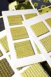 Teppichbeschaffenheitsmuster und -proben Stockbilder