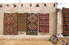 Teppiche Tunesien Stockfotos